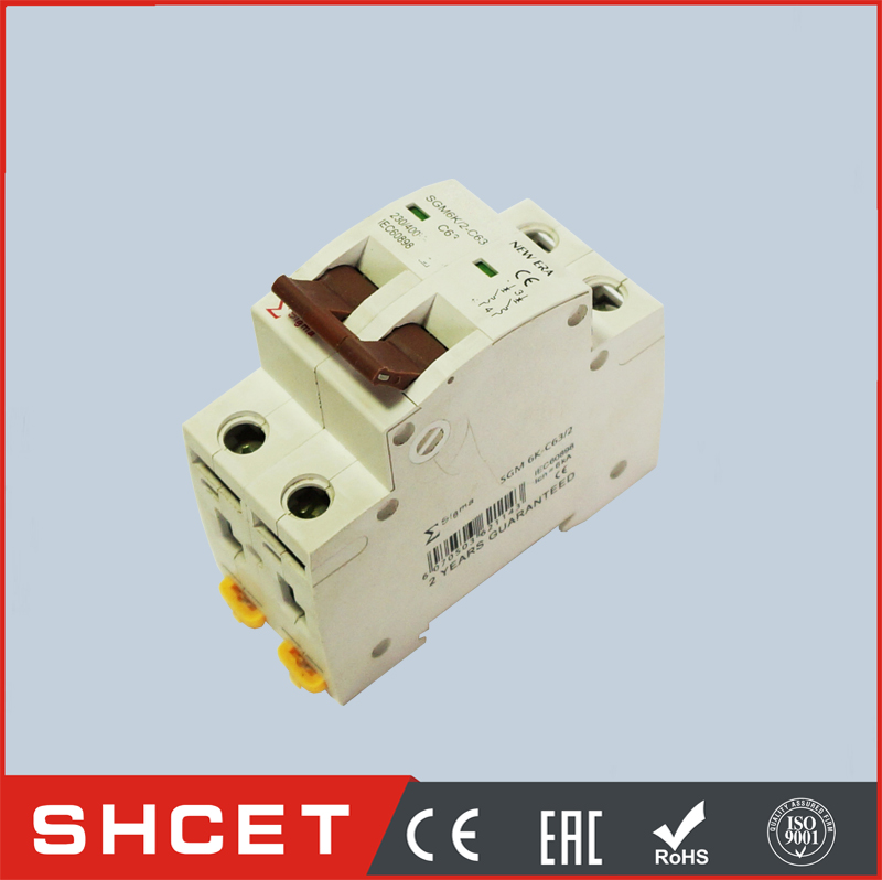 To Peru NEW C45 miniature circuit breaker MCB dz47-60