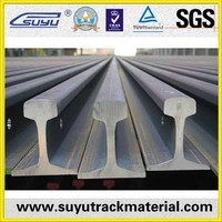 railway construction material, railroad steel rail