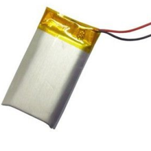401430 130mAh 3.7V lipo battery cell for electric toothbrush