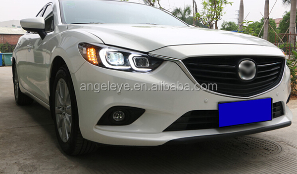2013 2015 year for mazda 6 atenza led headlights with hid. Black Bedroom Furniture Sets. Home Design Ideas