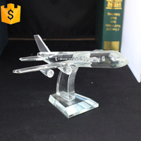 Crystal diecast Model Plane for room decortive with gift