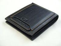 Black Mens Leather Wallet Pockets Card Holder Bifold Purse Wallets
