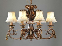 2012 Iron decoration wrought Chandeliers,crystal,CH051-8