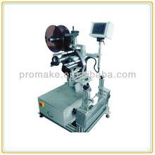 Guangzhou manufacturer TAM-808DT round flat general Semi-automatic Tin can labelling machine