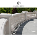 villa quality exterior stone entrance balcony railing / baluster