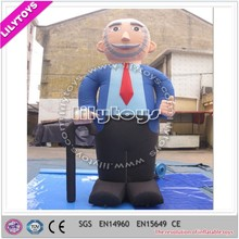 Assuranced quality friendly man advertising for supermarkets/advertising model inflatable
