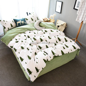 Buy now ins wholesale Reactive printed cactus cotton bedding set stock