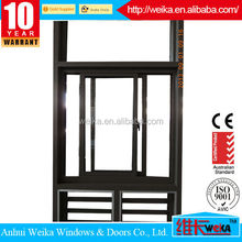Modern house ISO9001,CE aluminum window/aluminum sliding windows for warehouse