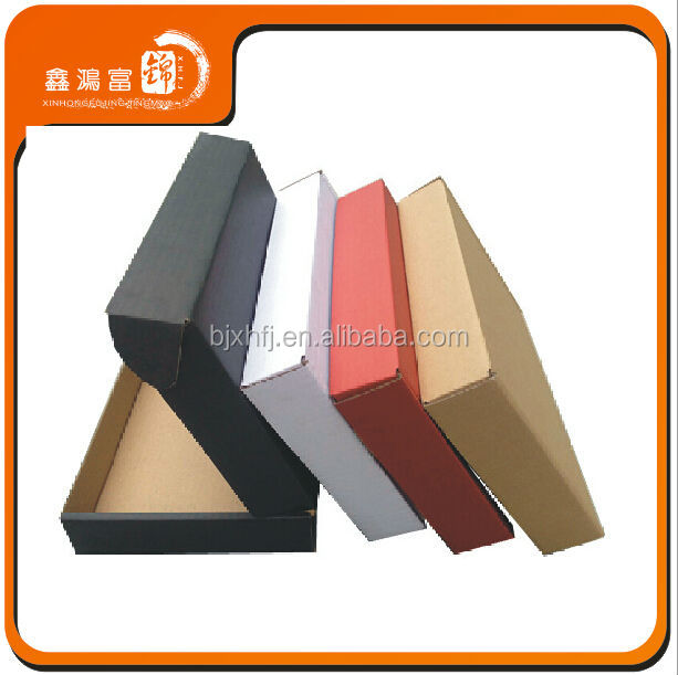 Design stylish hot sale customized sizes corrugated carton packaging box cardboard