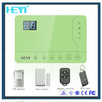 Iphone/Android App control system Anti-theft home sercurity alarm system made in China