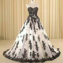 OEM new model girls plus size evening formal princess ball gown lace appliqued white party dress