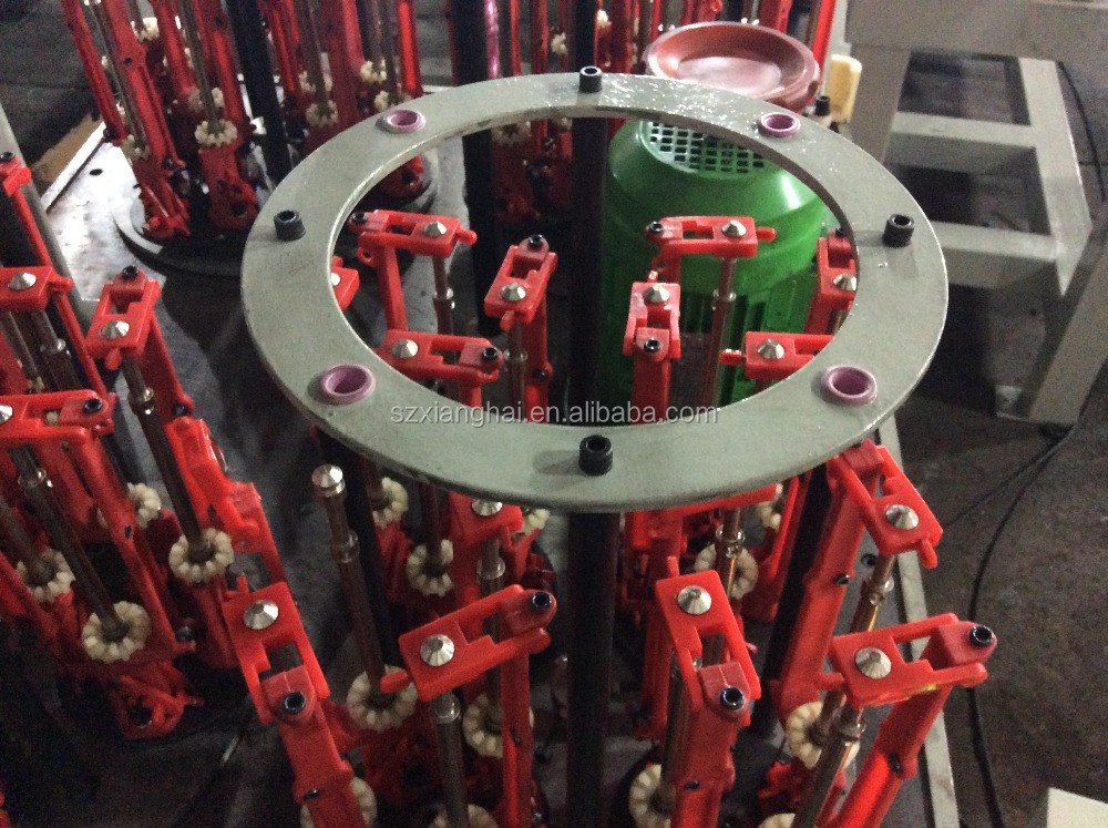 90-4-4 high speed twisted rope braiding machine used for making gift bag ropes