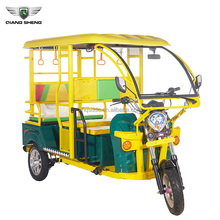 2018 new design elegant six seated electric three wheeler taxi for sale