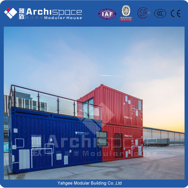 prefabricated house wall panels with steel container