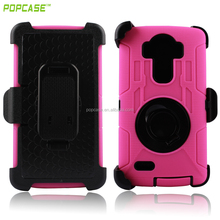 hot sale holster Durable Commander combo back cover for LG G4