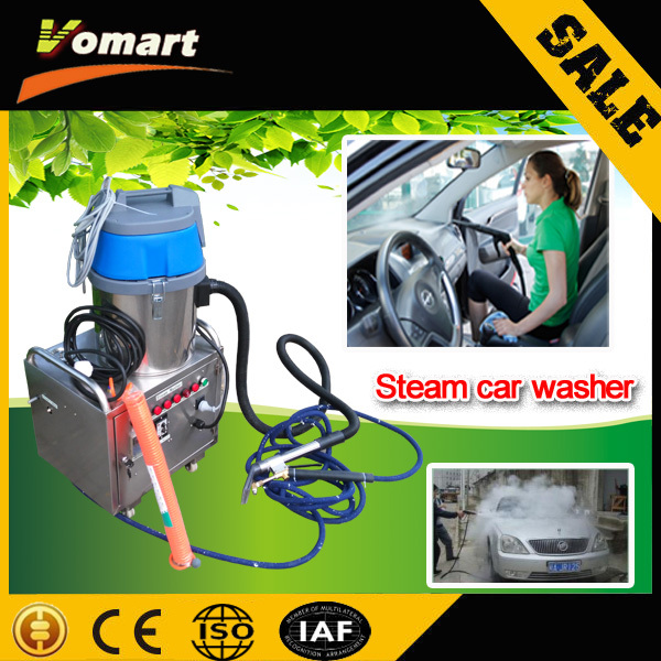 CE 6KW automatic mobile steam car washing machine/machine dry wash car auto steam cleaner