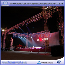 aluminium stage truss and podium stage