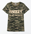 Unisex Gender and T-Shirts Product Type custom t shirt camo printing t-shirts