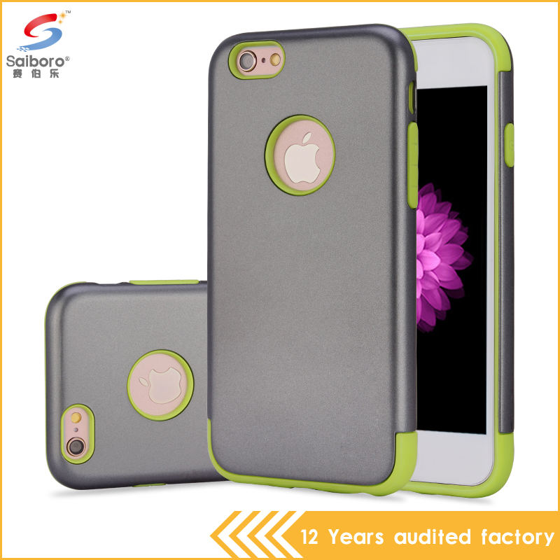 Top quality wholesale free sample tpu and pc anti shock case for iPhone 6