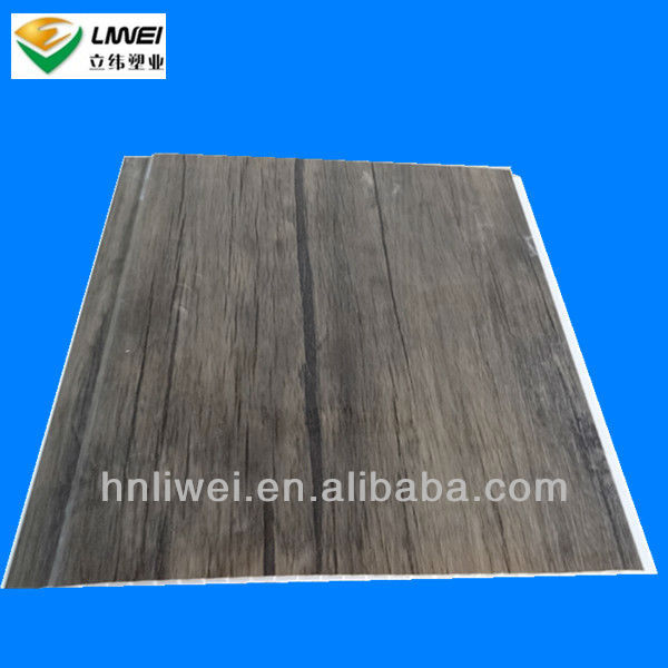 pop wooden design pvc ceilings for building materials