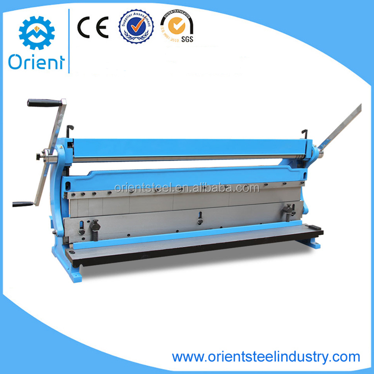 Manual 3 IN 1 Combination Shear/Bend/Roll Machine