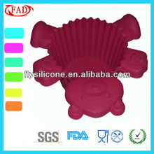 Bear Shape Silicone Bake King Bakeware Factory Eco-friendly