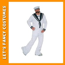 Used Halloween male cheap hot sale sailor costume for men's PGMC-1268