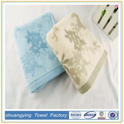 Factory Sale Cheap Cotton Embroidery Face Towel With Custom Jacquard Logo