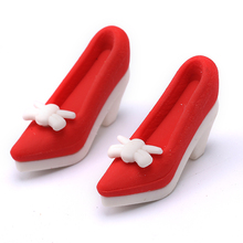 Best selling children fancy pencil shoe eraser
