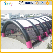 12 legs giant inflatable tennis court tent with blower