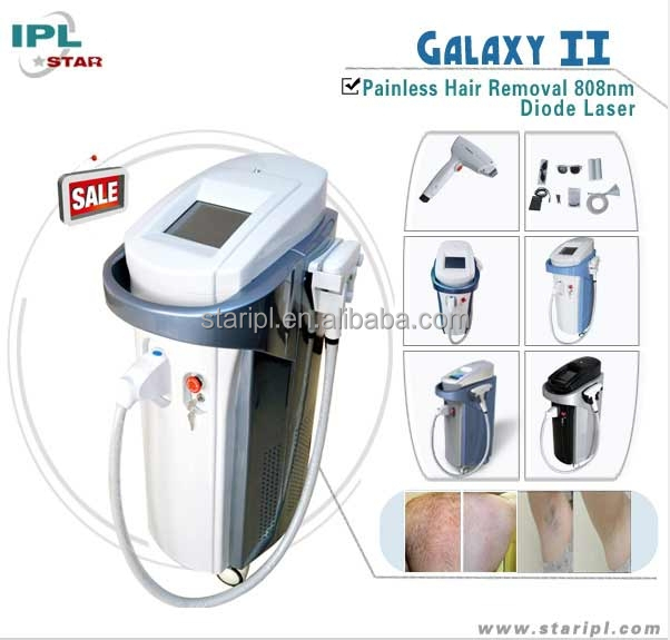 Permanent salon equipment laser hair removal/electronic diode laser beauty product/cosmetic laser diode hair removal