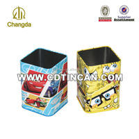 metal pen container for student /office equipment