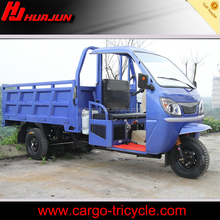 Gasoline driving motorzied tricycle cabin closed for cargo