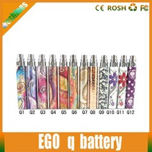 Fashion Christmas ecig ego battery electronic cigarette ego-q battery fit for ce4 blister kit