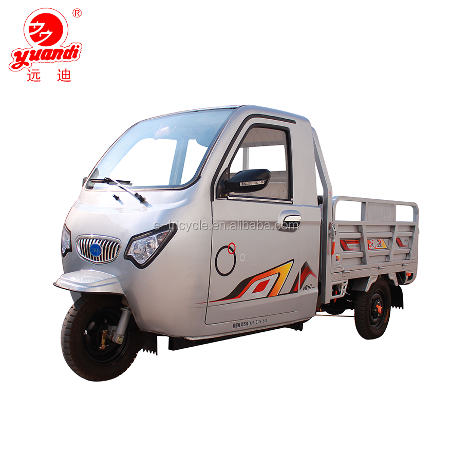 2018 China Manufacture High Quality Electric and Gasoline Cargo Tricycle for Sale