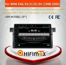 HIFIMAX Andriod 4.4.4 Navigation Car Video Multimedia For BMW E46 (1998-2006)/X3/5/Z3/Z4 Radio GPS With Wifi 3G Bluetooth