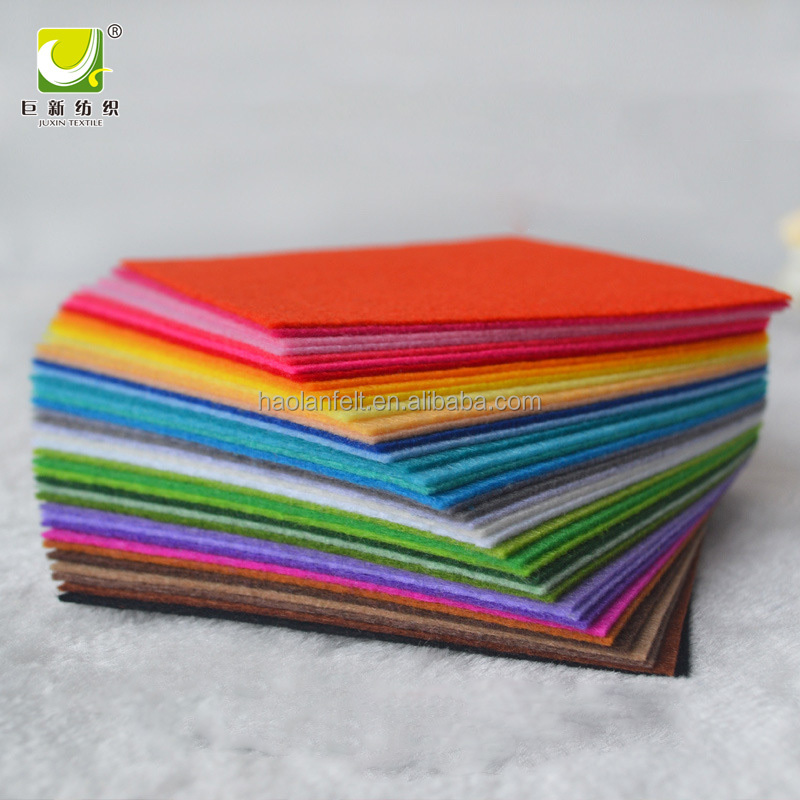Customized Different Color 100% Polyester Material Needle Punched Felt