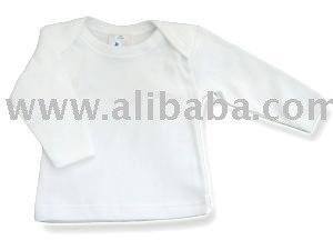 BABY Long Sleeve Envelope Neck T-shirt