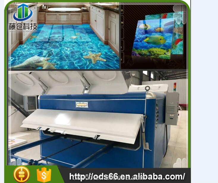 The newest design machine building 3d glass microcrystalline ceramic