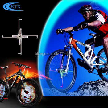 Rainbow different pattern Bicycle road bike light 416 led bike spoke light