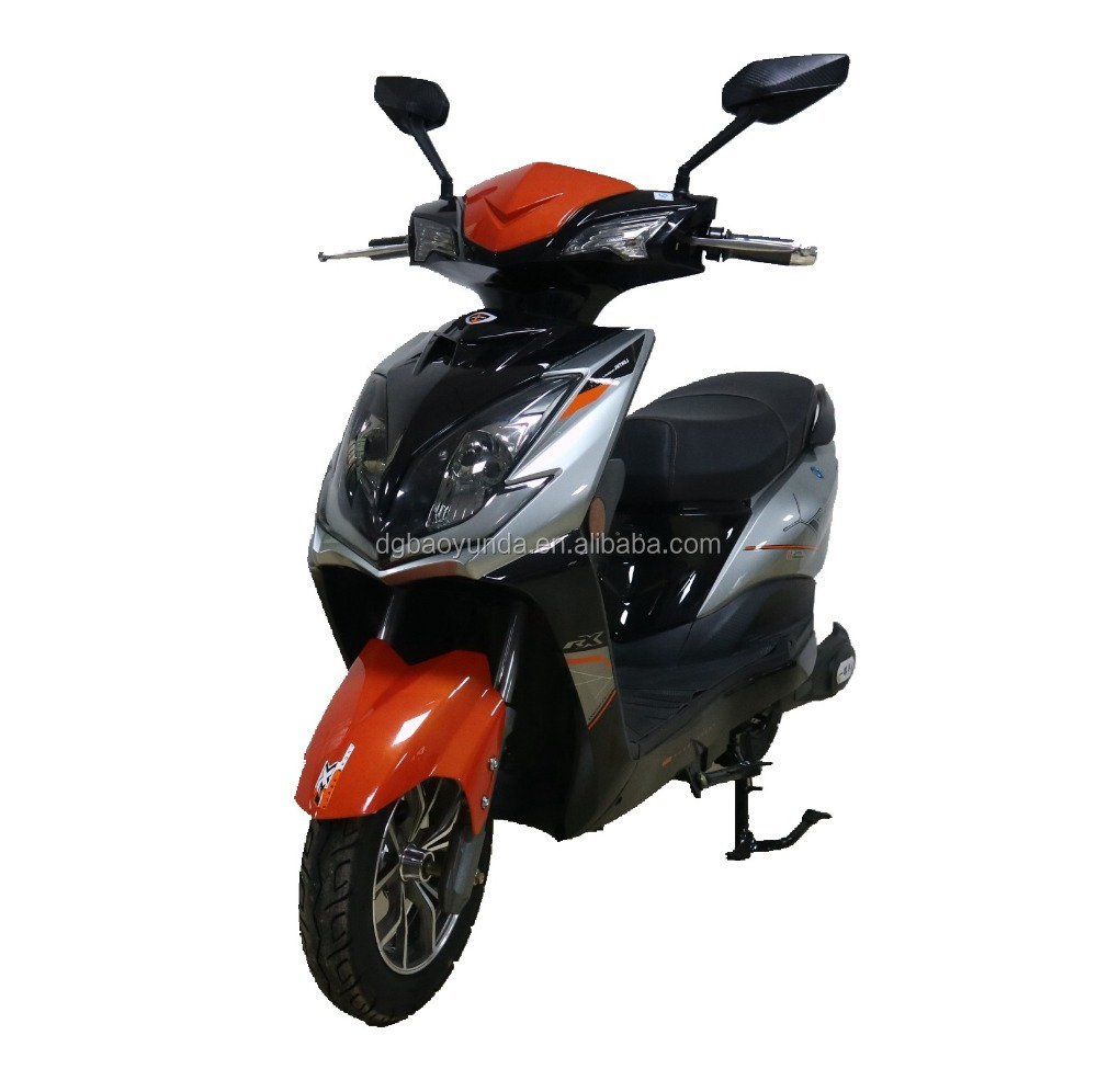 High efficient fashion 2 wheel 2 seats electric motorcycle / cheap electrical scooter from China / electric dirt bike