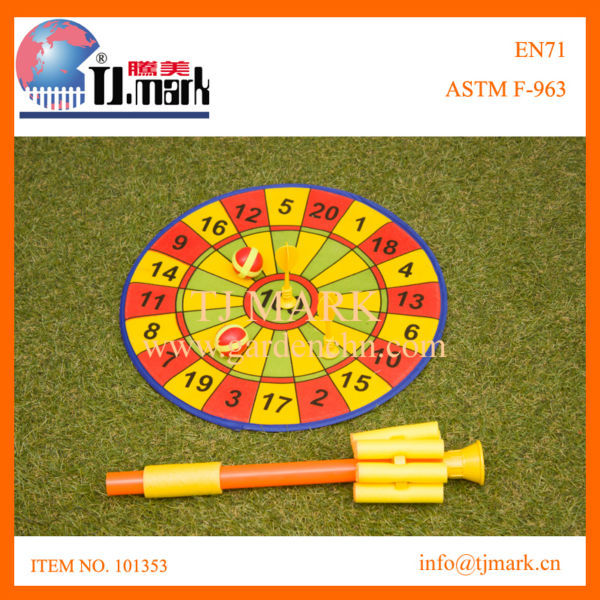 Hot sale plastic blowgun target hunting toys for kids