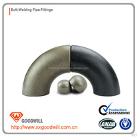 90 degree butt weld seamless carbon steel elbow ASTM a234 wpb b16.9/16.25/16.49 carbon steel elbow seamless and welded