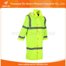 Widely Use Cheap High Visibility Reflective Safety Raincoat Women