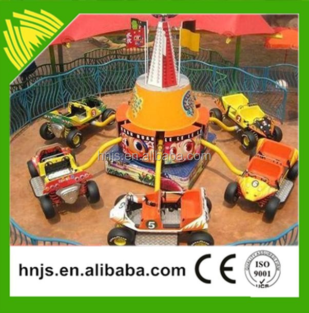 Amusement park jumping bounce car kids electric car rides for sale