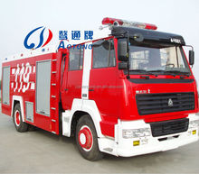 6*4 Styre Fire Fighting Truck/Water and Foam Fire Truck (8000L)