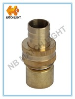 China Factory High Quality Copper Hydraulic Brass Garden Hose End