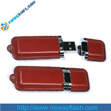 Rubber leather 32GB USB 2.0 flash drive