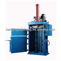waste paper baler machine/cardboard baling press machine