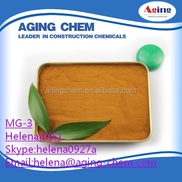 Calcium lignosulfonate for refractory/Kalsiyum Lignin MG-3/8061-52-7 supplier